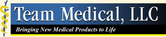 Team Medical-Bringing New Medical Products to Life Logo